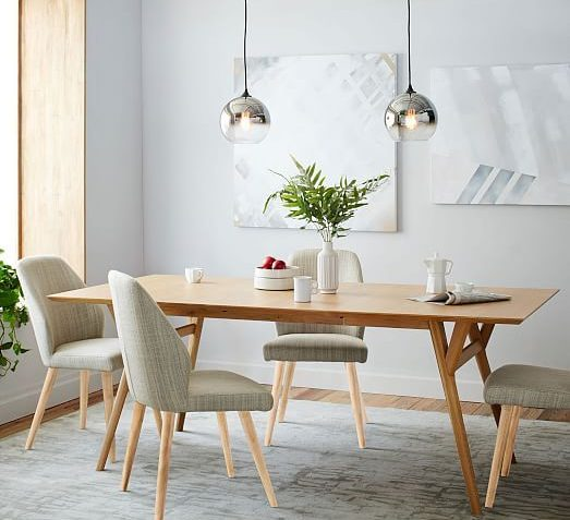 West Elm Mid-Century Expandable Dining Table Review ...