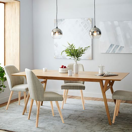 Mid Century Modern Dining Set: West Elm Mid-Century Expandable Dining Table Review