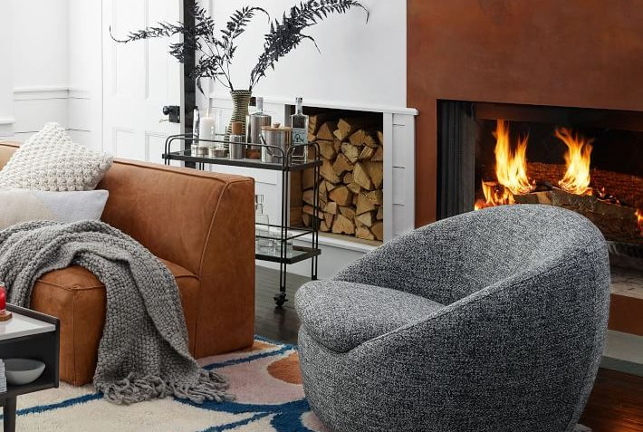 West Elm Cozy Swivel Chair Review Furnished Reviews
