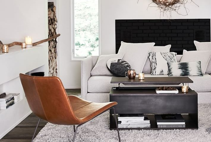 West Elm Slope Leather Lounge Chair Review Furnished Reviews