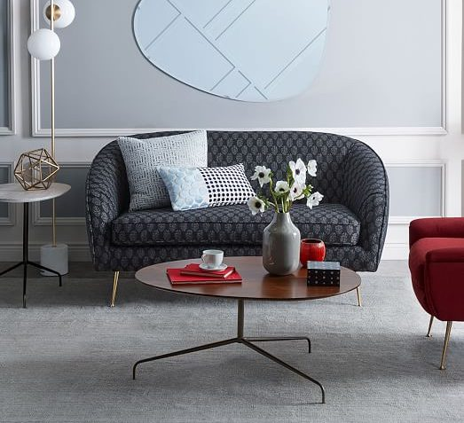 West Elm Stella Mid Century Loveseat 60 5 Review