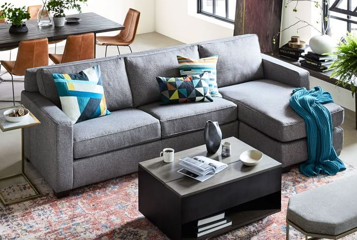 West Elm Henry Sectional Sofa Review Furnished Reviews