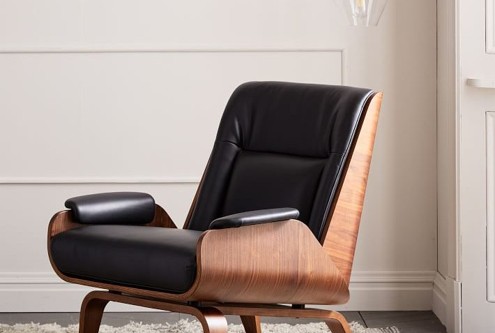 West Elm Paulo Bent Ply Leather Chair Review Furnished