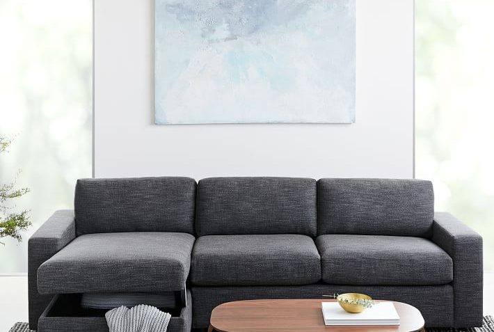 Amazing West Elm Urban Sectional Sofa Review Furnished Reviews Gmtry Best Dining Table And Chair Ideas Images Gmtryco