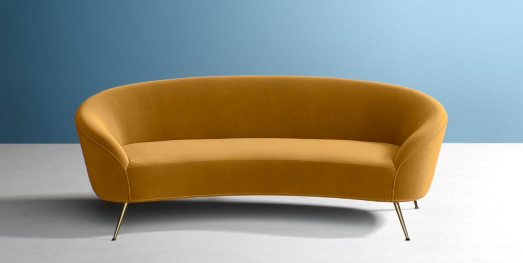 Excellent West Elm Stella Mid Century Loveseat 60 5 Review Caraccident5 Cool Chair Designs And Ideas Caraccident5Info