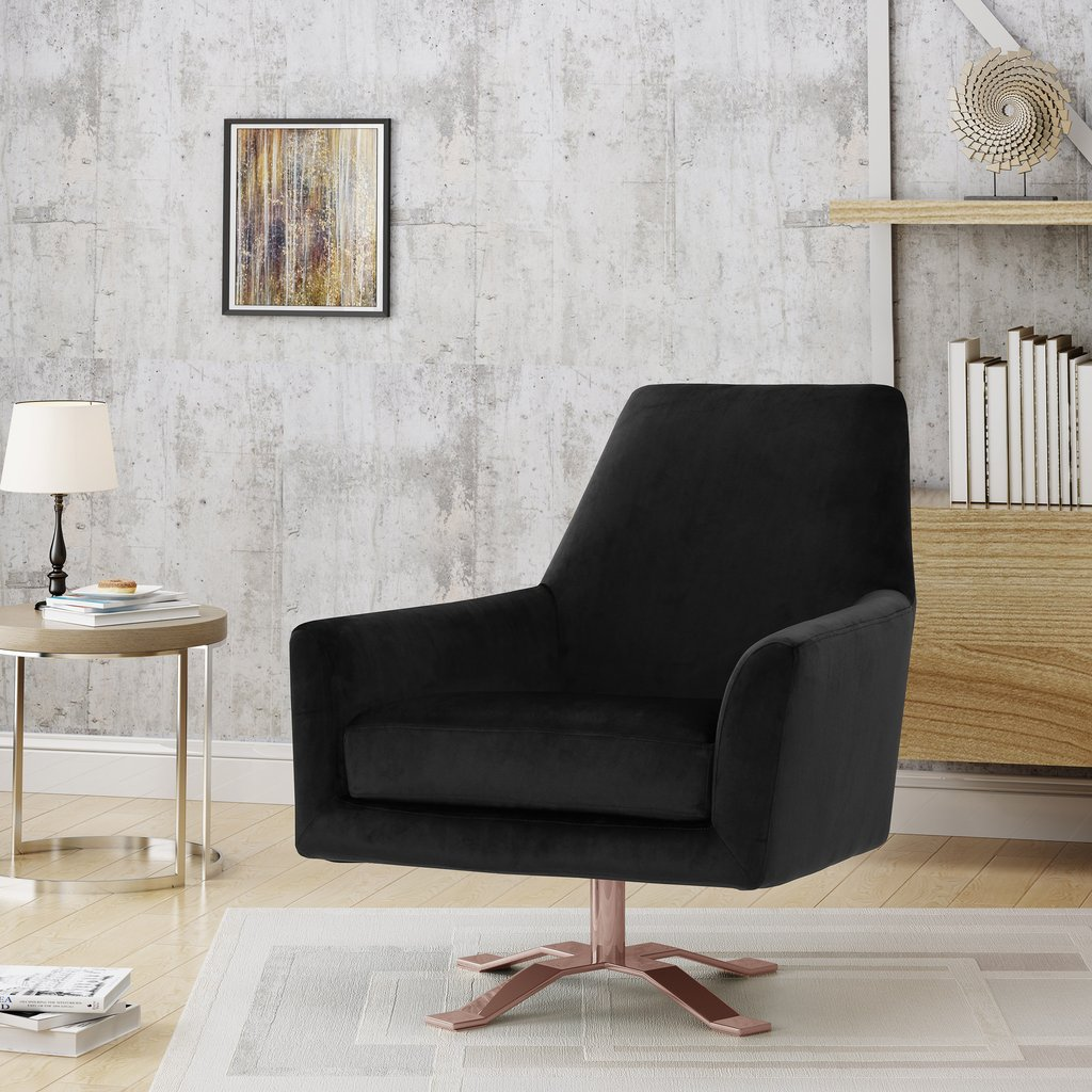 Admirable West Elm Lucas Swivel Chair Review Furnished Reviews Machost Co Dining Chair Design Ideas Machostcouk