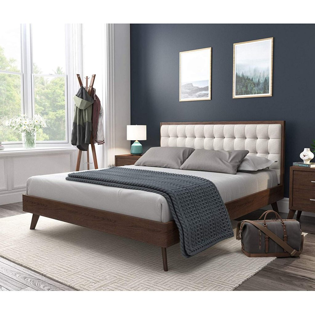 Cb2 Drommen Acacia Wood Bed Review Furnished Reviews